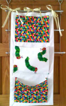The very hungry caterpillar cot tidy 2