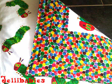The very hungry caterpillar cot quilt blanket