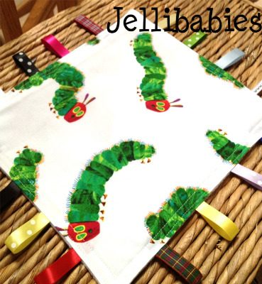 The very hungry caterpillar Taggy Blankets encore 2