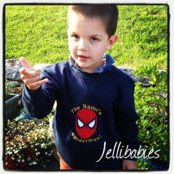Children's Spiderman Jumper