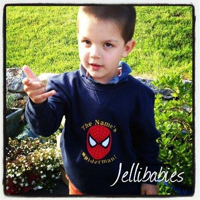 Children's Spiderman Jumper