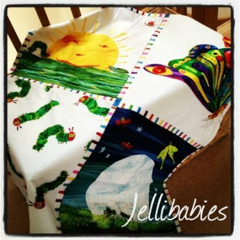 The very hungry caterpillar cot blanket  Playmat