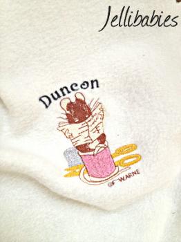 cb754e301 Personalised Tailor of gloucester Beatrix Potter fleece baby cot blanket