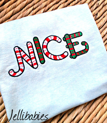 Nice, Childrens christmas T shirt