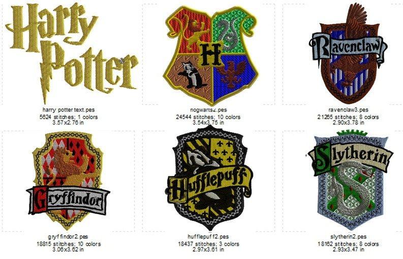 harry potter crest set images