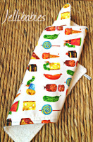 The very hungry caterpillar changing mat LINER