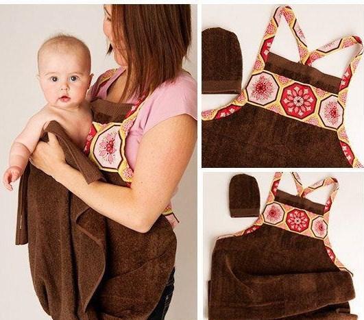 bathing apron
