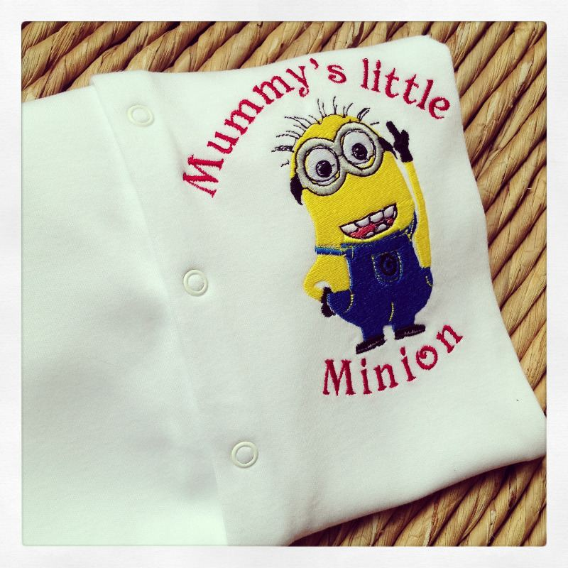 despicable me minion sleepsuit babygrow
