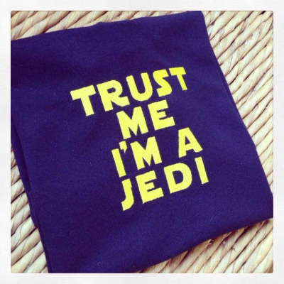 Trust me I'm a Jedi Star Wars children's T shirt