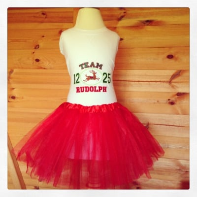 Personalised  baby tutu and onesie vest set