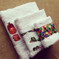 The very hungry caterpillar  baby towel gift set
