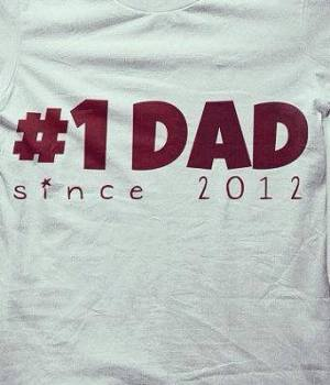 Daddy since ... fathers day T shirt 2