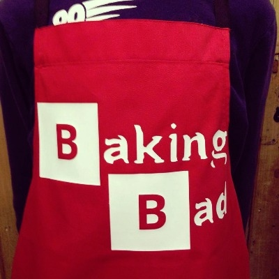Baking Bad  adult apron ANY design and text
