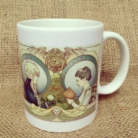 Labyrinth Sarah & Jareth mug