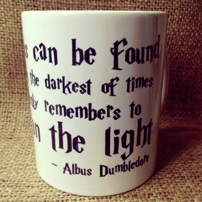 Harry Potter inspired spell mug