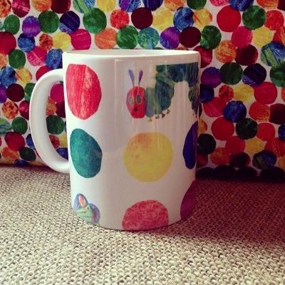 The very hungry caterpillar inspired mug