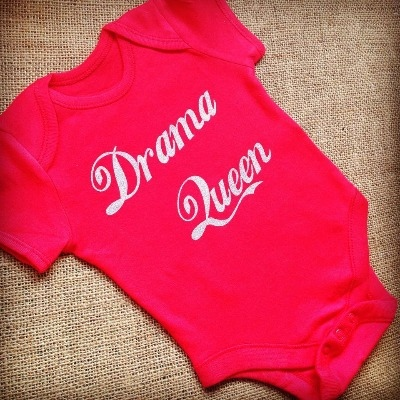Drama Queen  baby onesie vest
