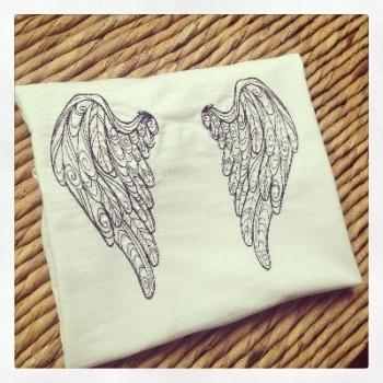 Angel wings children's T shirt