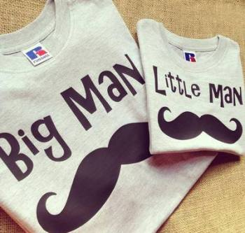 Big man Little man ... fathers day T shirt