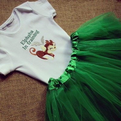 Wizard of oz  baby tutu and T shirt  set  Age 2 and upwards