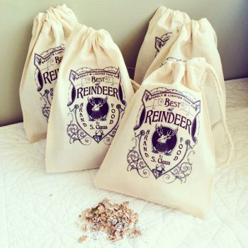 Magic reindeer food bags
