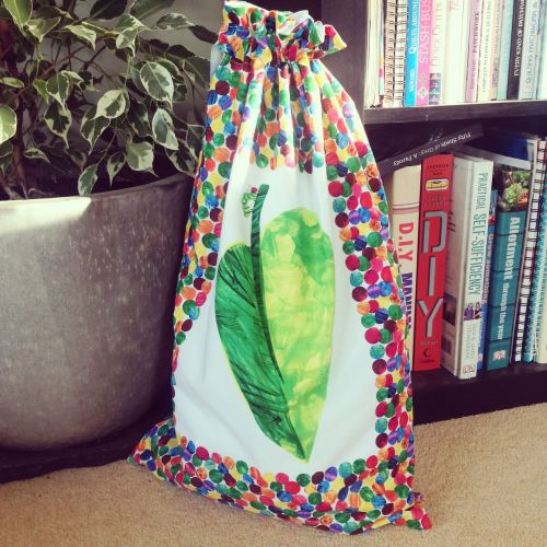 The Very Hungry Caterpillar toy/book bag