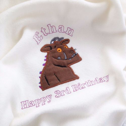 The Gruffalo  personalised cot blanket