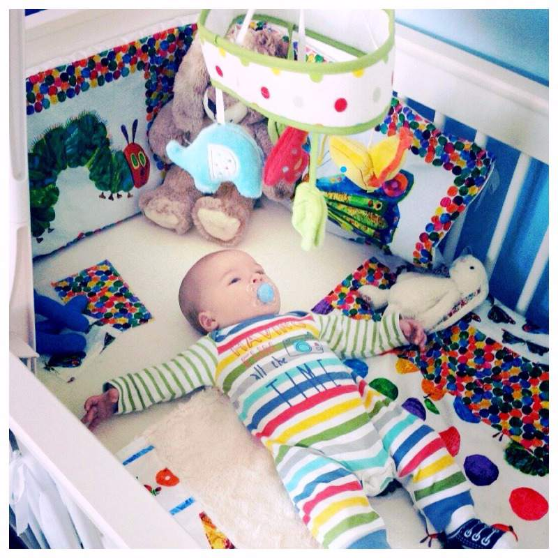 The very hungry caterpillar baby nursery