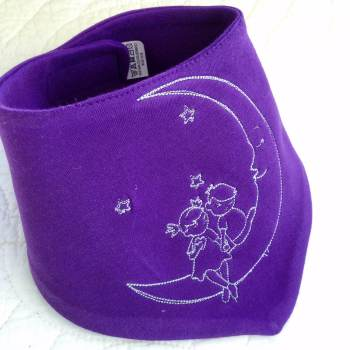 Wishing on a moon Bandana dribble bibs