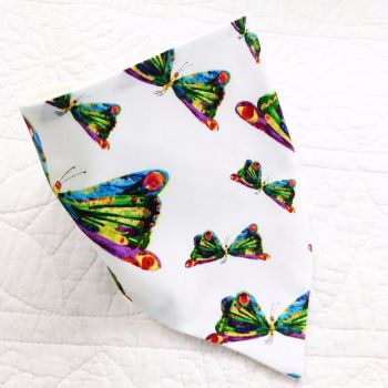 The very hungry caterpillar butterfly baby bandana dribble bib