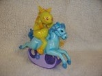 Rocking Horse Money Box (Yellow Rider)