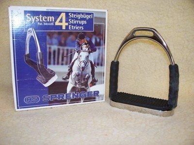 System 4 Stirrup Irons                                          4 1/4