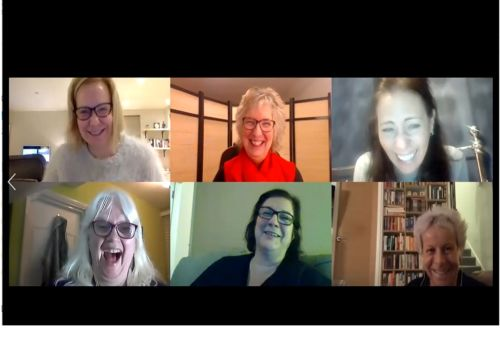 Online laughter Yoga Workshop  Wednesday 3rd June 7pm-8pm