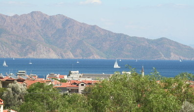 View from Villa Gaea