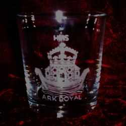 hms ark royal ships badge