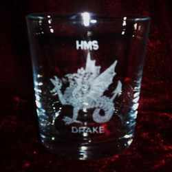 hms drake ships badge