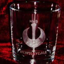hms wensleydale ships badge