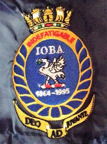 IOBA body warmer logo
