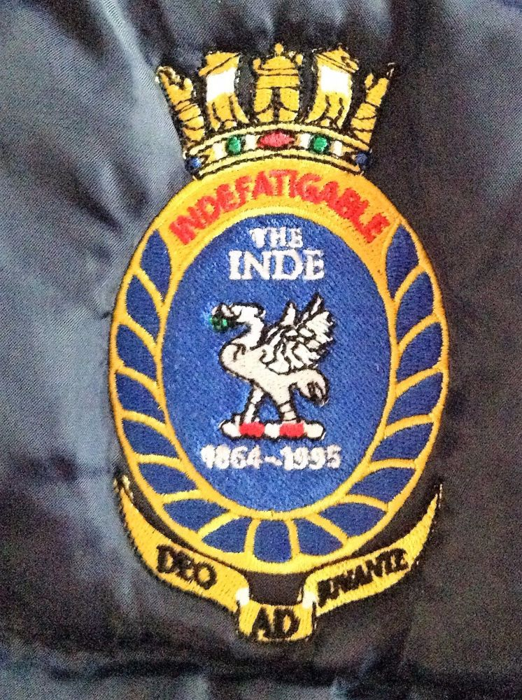 THE INDE body warmer logo