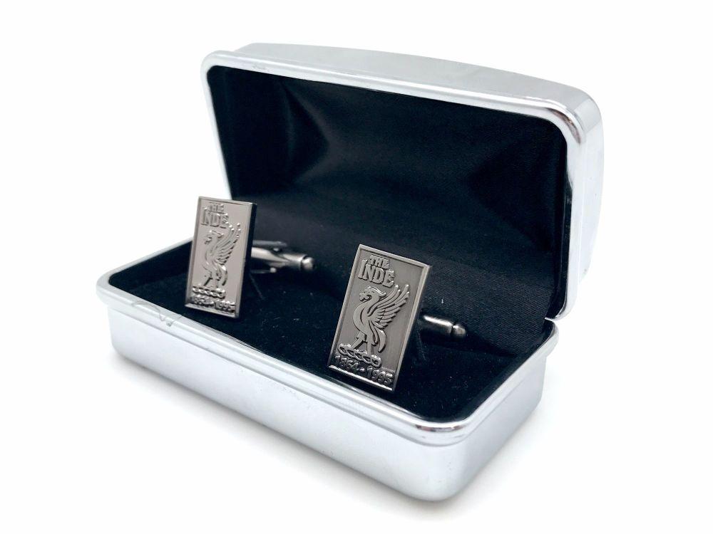 ioba Silver Cufflinks in box 05b