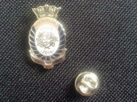 Indefatigable Old Boys Association 150 years stud pin lapel badge collect