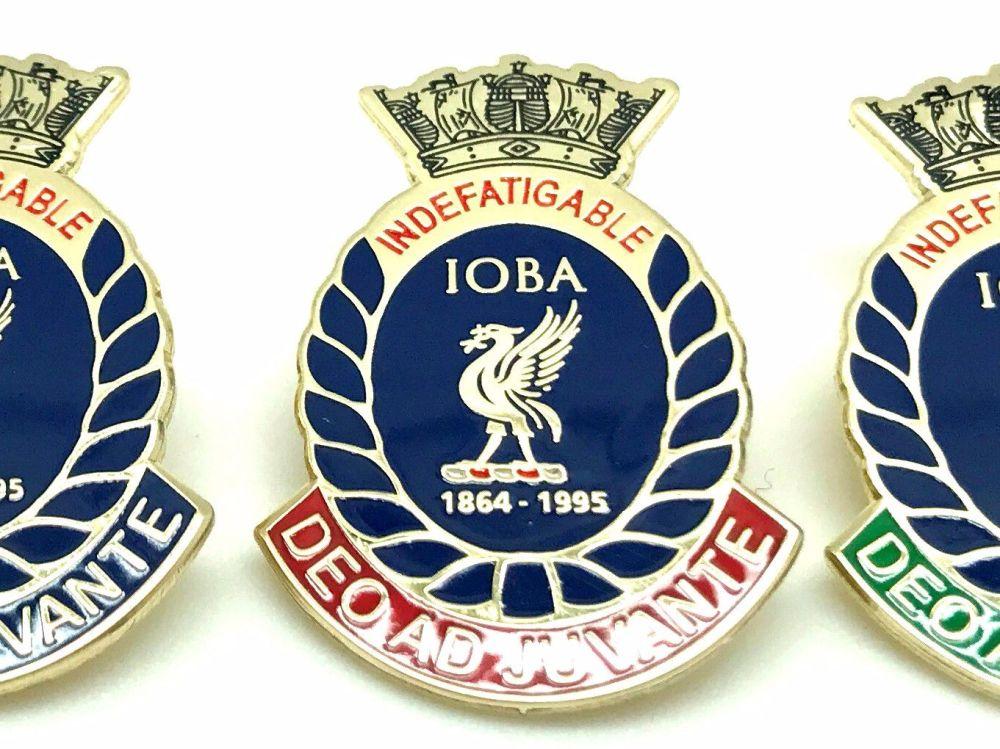 Indefatigable old boys association divisional badge DRAKE