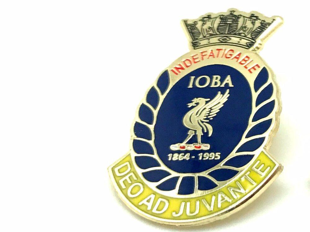 Indefatigable old boys association divisional badge HOOD