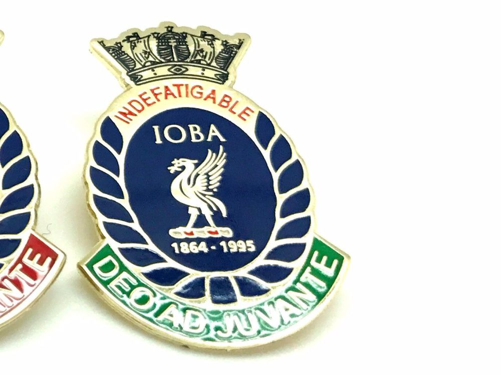 Indefatigable old boys association divisional badge RODNEY collected from r