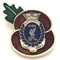 Indefatigable Poppy badge