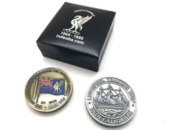 Indefatigable Commemorative Coin 2