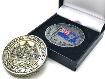 Indefatigable Commemorative Coin 3