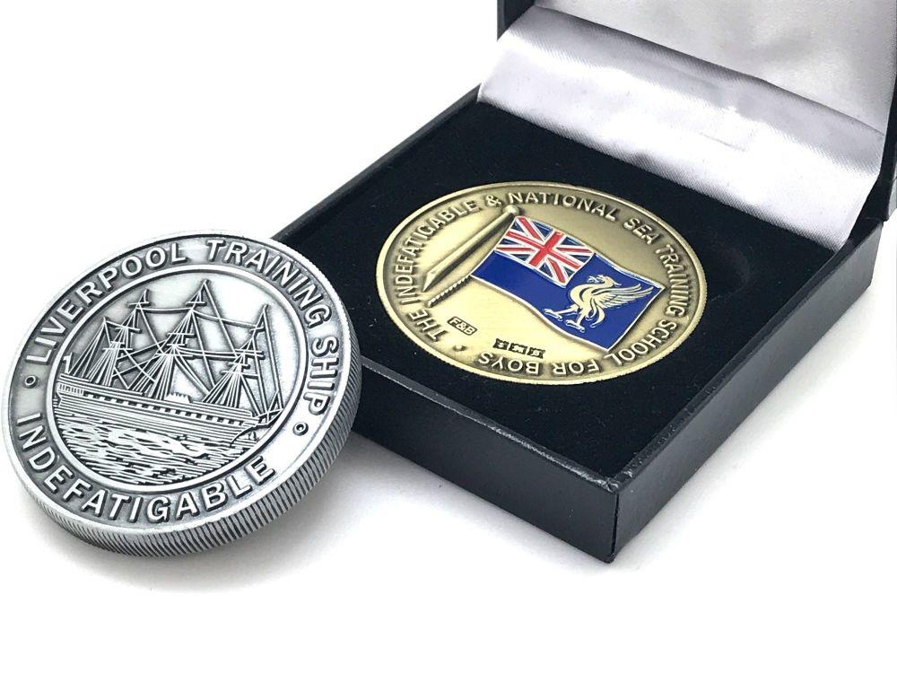 Indefatigable Commemorative Coin 4