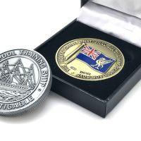 Indefatigable coin/medal Commemorative box set