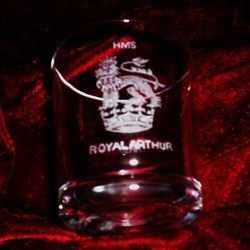 hms royal arthur ships badge